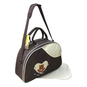 GMMH 2-piece Baby Colour beige brown Nappy bag Clean Bag Nappy Bag Baby Bag Travel Colour Selection