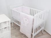 Tots by Classic Rike 240 108 Bedding Set, Pink Mix
