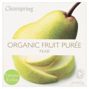 Clearspring Organic Pear Puree, 200 g