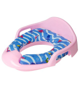 Toilet Trainer Seat Pink | Perfect For Toddlers | With Handles | Padded Seat | Removable And Easy To Clean