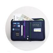 EQLEF® Multi-purpose Handbag Travel Passport Wallet Organiser Holder For Men