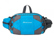 Soarpop BB4352MB Blue Small Handbag /Waist Bag/ Messenger BagDurable Unisex Outdoor Sport Handy Bag/Bum Water Bottle Holder Riding Cycling Climbing Bag/Travel Waist Belt Bag Pack Cover