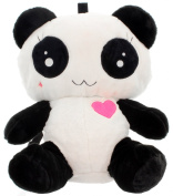 Cupcake Cult Love Panda Cute Kawaii Oversized Bag Backpack Black