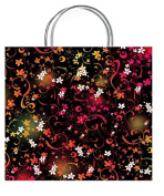 One Medium Chic Vivid Gift Bag With Gift Tag