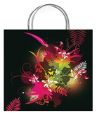One Medium Beau Vivid Gift Bag With Gift Tag