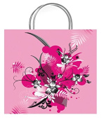 One Small Beau Pink Gift Bag With Gift Tag