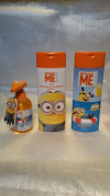 Despicable Me Minions 3 Piece Bathroom Gift Set - Bubble Bath, 2in1 Shampoo & Conditioner, Handwash with Giggling Sound