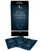 Fifty Shades Of Grey Foil Packet Condoms 12 Pack