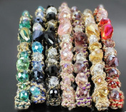 Cuhair (tm) Fashion Women Girl Rhinestone Crystal clip claw Barrettes pin Hair Accessories