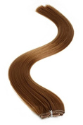Synthetic Hair Extensions | Clip In Hair Extensions | 46cm | Light Brown (6) by American Pride