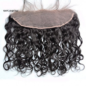 Sunny Lace Frontal 13*10cm Natural Wave Free Part Closure 46cm Unprocessed Virgin Human Hair Closure with Baby Hair