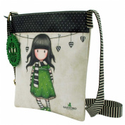 Santoro Gorjuss Flat Cross Body Bag - The Scarf