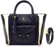 Vertigo Paris Women's Dylan Medium Satchel Tote Bag