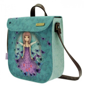 Santoros Mirabelle Small Satchel - Butterfly Design