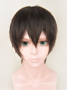 LanTing Hoozuki no Reitetsu Dark Brown Cosplay Party Fashion Anime Wig