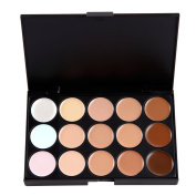 LIHAO Cream Concealer/Highlight/Face Contour Camouflage Make up Palette 15 Colours