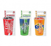 Lip Smackers Flavoured Lip Balm (Coca cola, Fanta or Sprite) - Originals 3 Pack