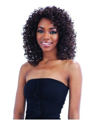 """Deep InFreeTress Equal Lacevisible """"L"""" Part Lace Front Wig JAYMIE"""