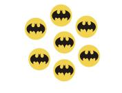 30 x Batman Logo CupCake Toppers Edible Rice Paper 3.8cm image fd