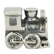 Sterling Silver Choo Choo Train Engine Travel Bead Fit Pandora Charms