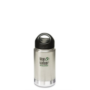 Klean Kanteen 355ml Double wall Vacuum Insulated bottle - Brushed Stainless