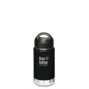 Klean Kanteen 355ml - Double wall Vacuum Insulated bottle - Black Eclipse
