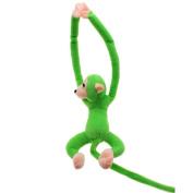 VANKER Baby Kids Soft Plush Toy Cute Hanging Long Arm Monkey Stuffed Animal Doll Green