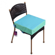 Lalawow Baby Booster Seat for Dining Chair Oxford Dismountable Adjustable Quick Release
