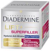 Diadermine LIFT+ Super Filler Hyaluron Anti-Wrinkle Night Cream 50ml
