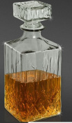 Glass Decanter. 900ml Whisky Sherry Wine Decanter Carafe