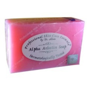 Alpha Arbutin Soap by Dr Alvin for bleaching and micro-peeling dead skin cells