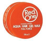RedOne Aqua Hair Gel Wax, Orange
