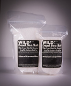 Wild Dead Sea Salt, 100% Natural Hand-Harvested Pure Bath Sea Salt From The Southern Dead Sea