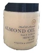 Asquith & Somerset Almond Oil Salt Scrub - 570ml