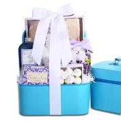 Touch of Lavender Elegance Spa Gift Basket
