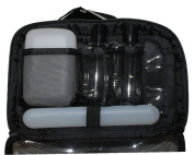 2-In-1 Shower Travel Bag Set, 5 pc