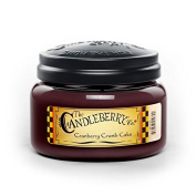 Candleberry Medium 10 0z Jar Scented Candle - Cranberry Crumb Cake