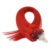 Straight Remy Hair Grade 6A Micro Loop Double Ring 1g/s 100% Human Hair Extensions 100s