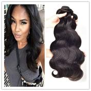 VariShow Hair Virgin Brazilian Hair Body Wave 3 Bundles Unprocessed Human Hair Weaves Mix Length Natural Colour