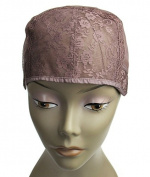MsFenda Brown Colour 3pcs/lot Medium Size full lace wig cap Wig Making Cap Glueless Wig Cap adjustable Wig Cap