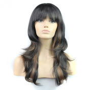 Long Wavy Curly Synthetic Wigs High Quality Women Wigs