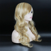 Fashion Women Girl Lady Wigs Long Wavy Curly Synthetic Wigs