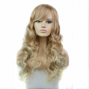Fashion Women Wigs Long Wavy Curly Synthetic Wigs For Girl