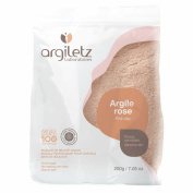Argiletz Pink Clay Bath Facial Mask and Revitalising Hair Mask 200g