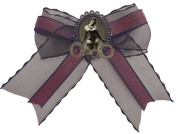 Women's Se7en Deadly Dominatrix Hairbow Cream