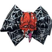 Kreepsville 666 Toxic Toons Hairbow Red Zombie