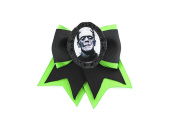 Project Pinup Frankenstein Traditional Hair Bow Clip