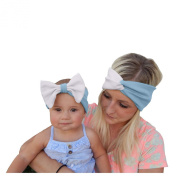 Everain Adults and Children Headband With Cotton Elastic Cloth Baby Child Hair Band Girl Headwear Headdress Hair Band Baby Girl Headwear Headdress