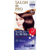 Salon De professional The cream hair colour (for grey hair) 4W Warm Brown_ 50 + 50g