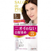 DARIYA Salon De Pro Hair Colour Non Smell Hair Dye, No. 5 Natural Brown, 0.2kg